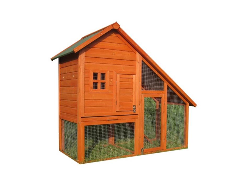 Ekonomik Ahşap Tavuk Kümesi Bahçeli ücretsiz Kargo